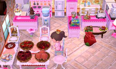 Kitchen Island Acnl lf; kitchen furniture - animal crossing: new leaf - online/trade