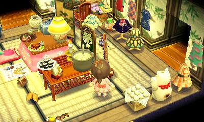 Animal Crossing Happy Home Designer Room Onsen