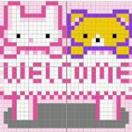 pinkwelcomesign